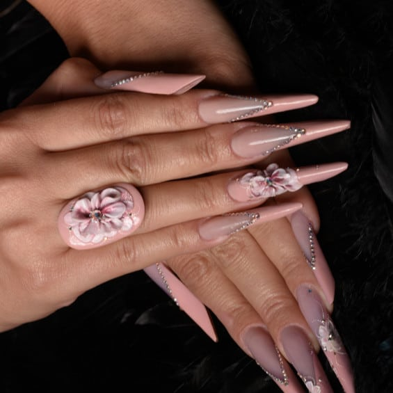 nails art 3d - Home