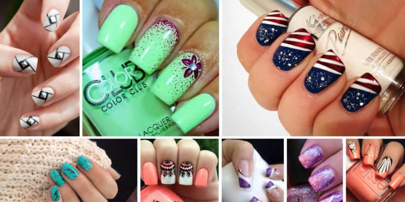Tutorial nail art smalto semipermanente